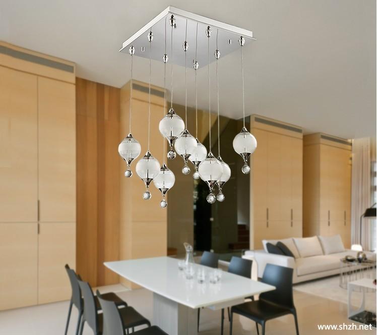 客厅 个性 灯具/简约个性吊灯客厅餐厅水晶灯灯饰灯具