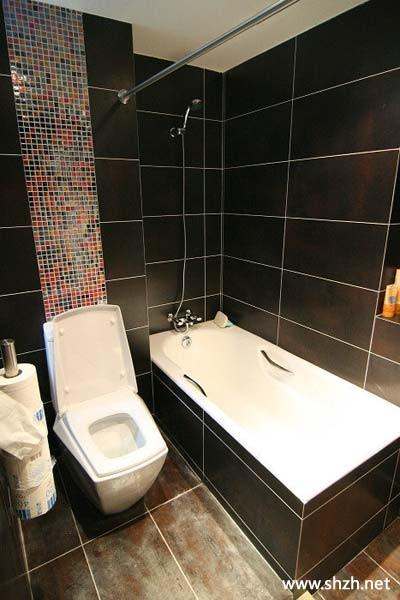 卫生间浴缸台盆图片