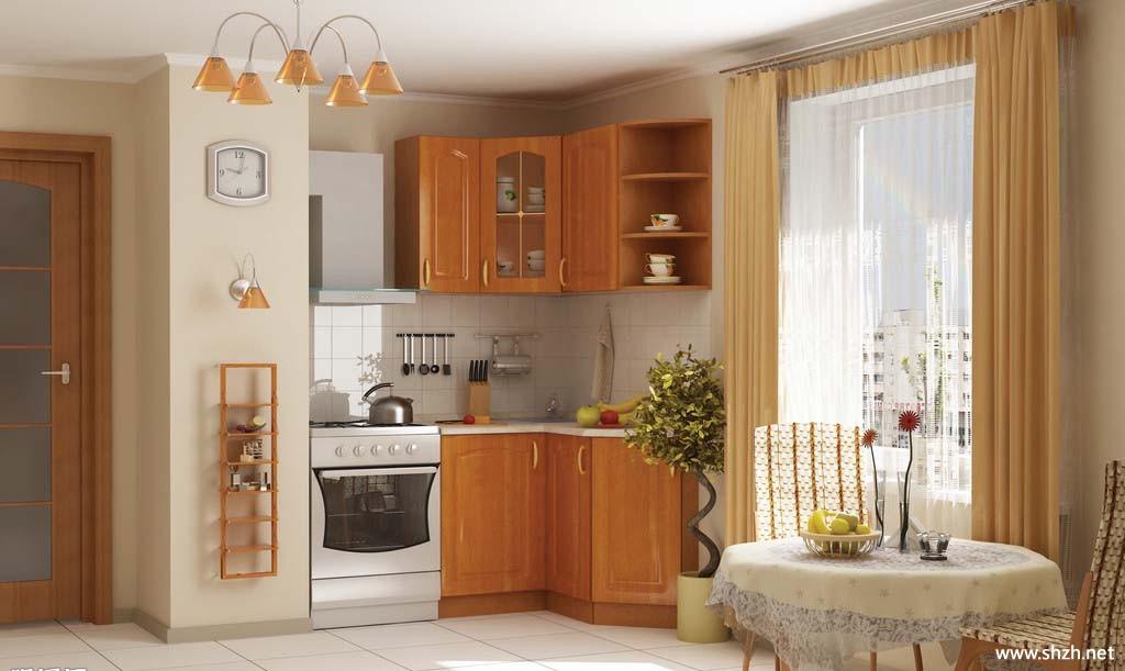 单身公寓餐厅厨房效果图