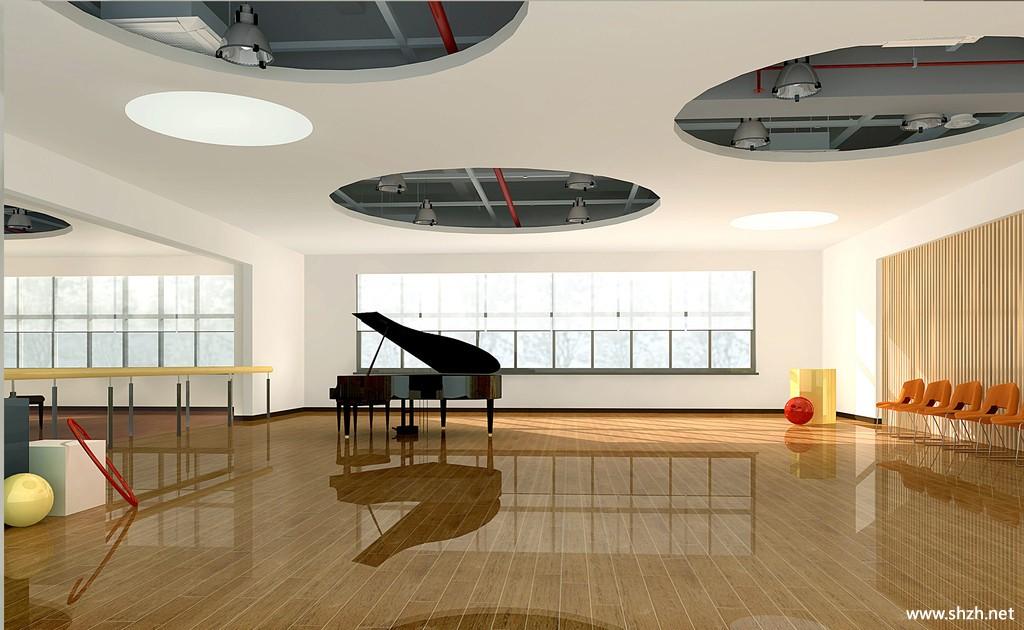 音乐教室设计效果图