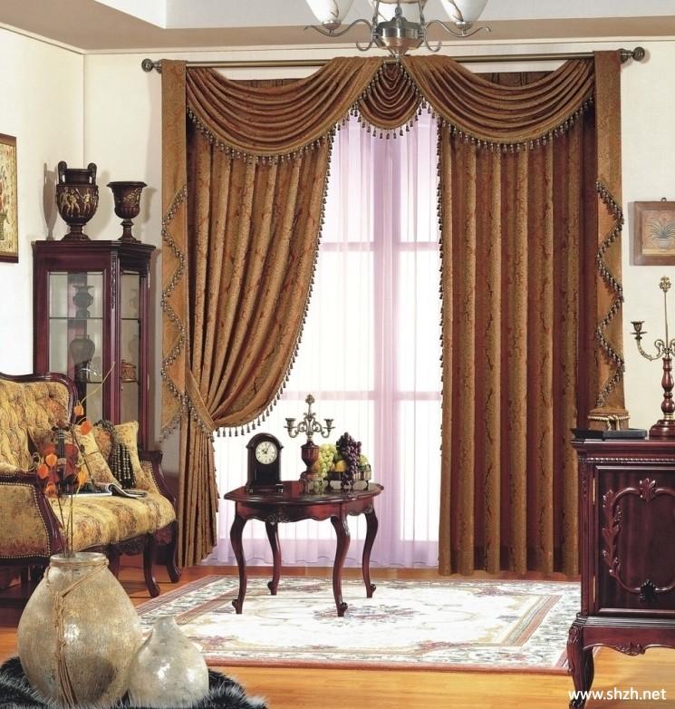 欧式客厅窗帘效果图_欧式客厅窗帘效果图_1231