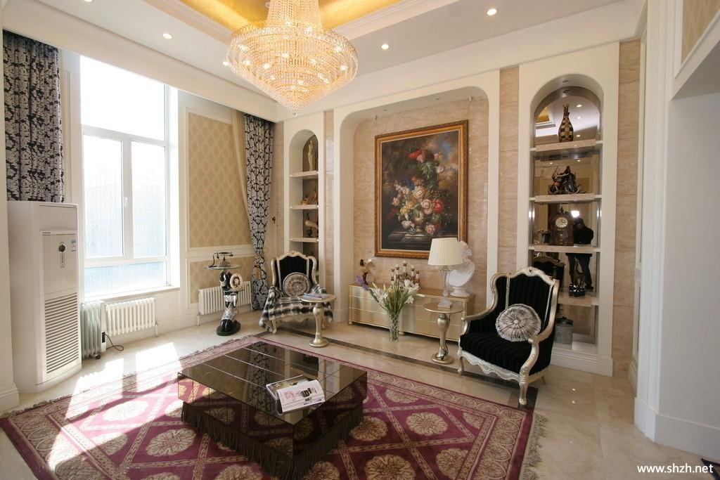欧式豪华客厅