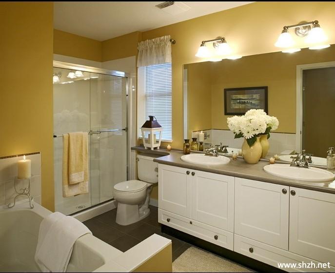 卫生间马桶浴缸浴室柜