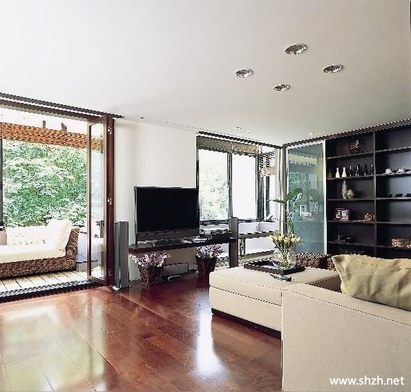 客厅壁橱装修_客厅壁橱沙发-上海装潢网