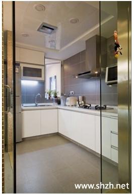 标签: 厨房 橱柜 实景图