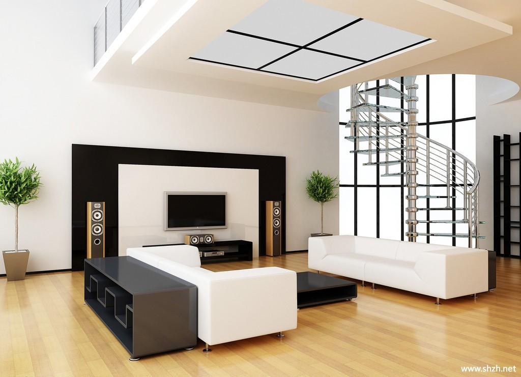 别墅中空客厅装修效果,客厅装修效果图表,简约客厅装修效果图片,高清图片