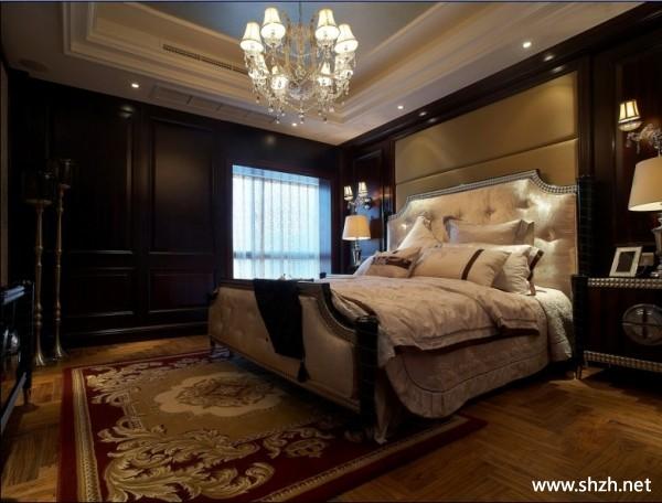 欧式别墅卧室-上海装潢网