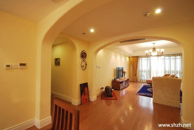 歐式客廳走廊效果圖; 奇佳佳室內設計的設計師家園:::奇佳佳室內設計
