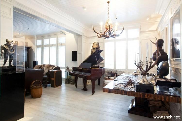 混搭欧式客厅灯具-上海装潢网