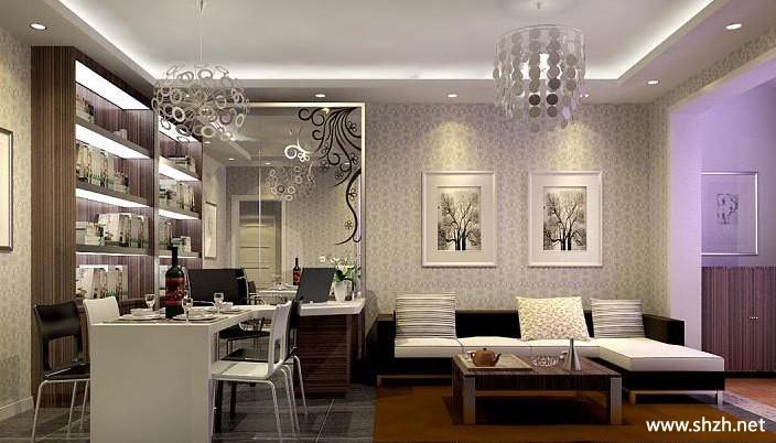 2012年最hold住的客厅餐厅卧室装修效果图-上海装潢