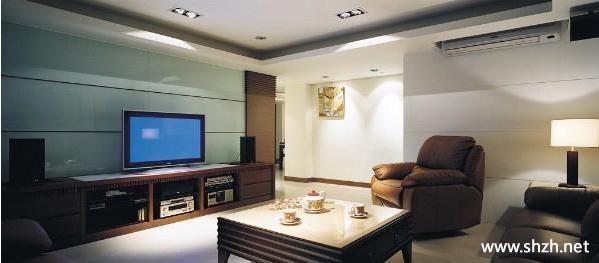 中式客厅电视柜背景墙图片