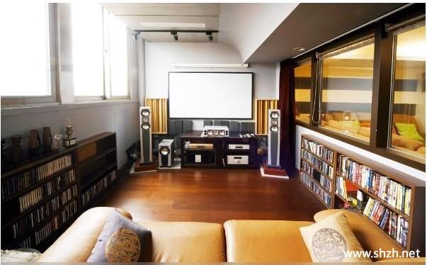 装修图库 休闲娱乐室  浏览数: 5 被分割的独立放映室,视听感觉一定很