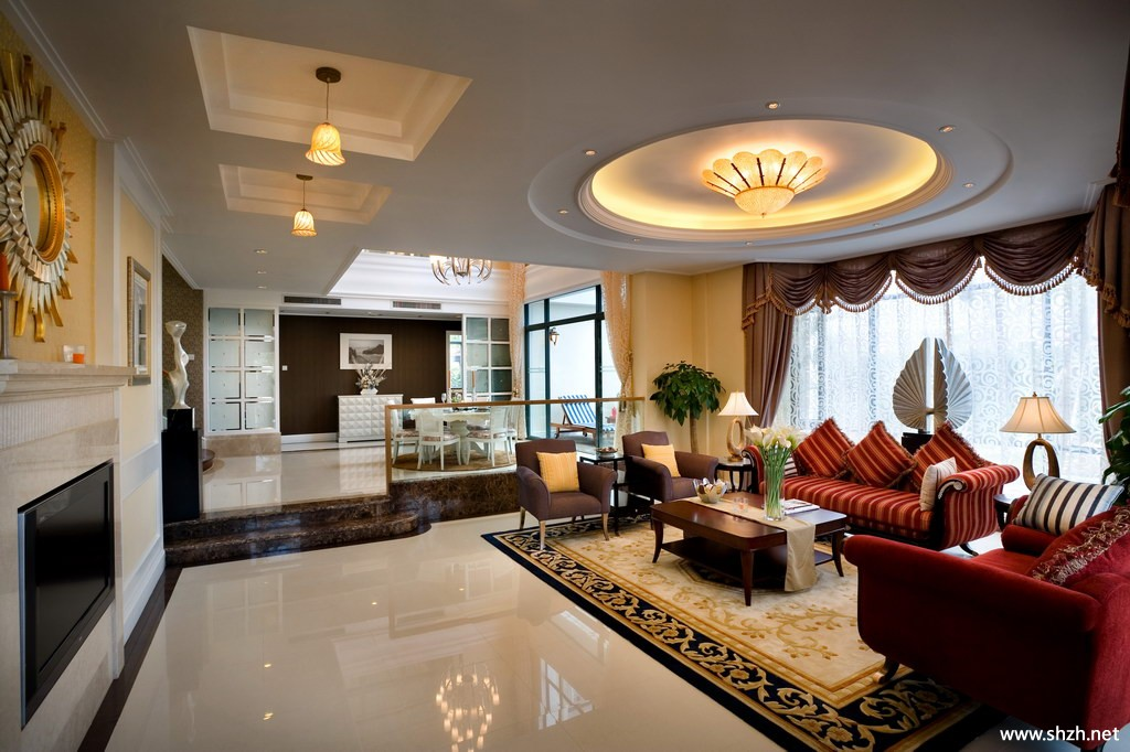 Living Room Ceiling Designs 2012