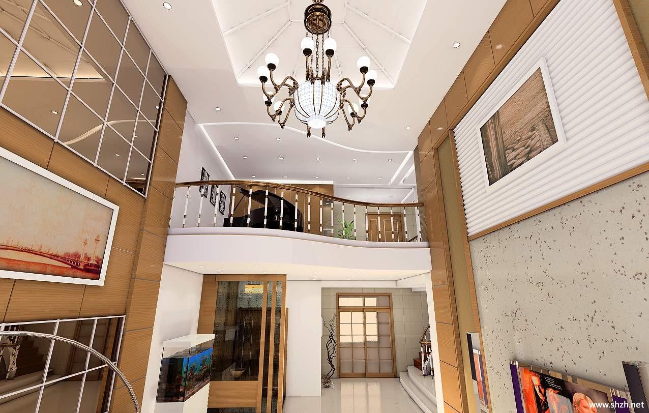 2012跃层家装效果图集锦一览;    二,跃层装修设计要点图片