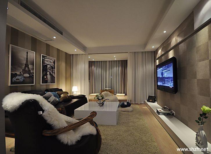 客厅电视柜背景墙