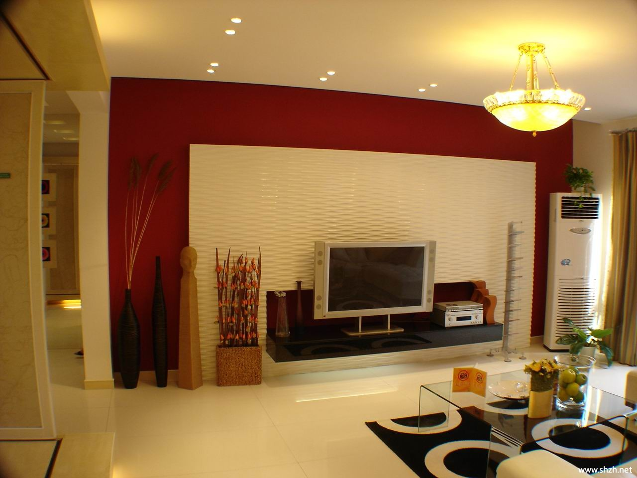 現代客廳燈具