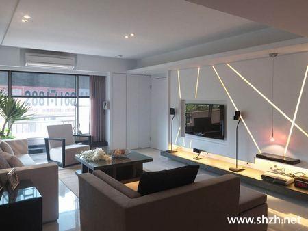 现代简约欧式客厅家具背景墙效果图