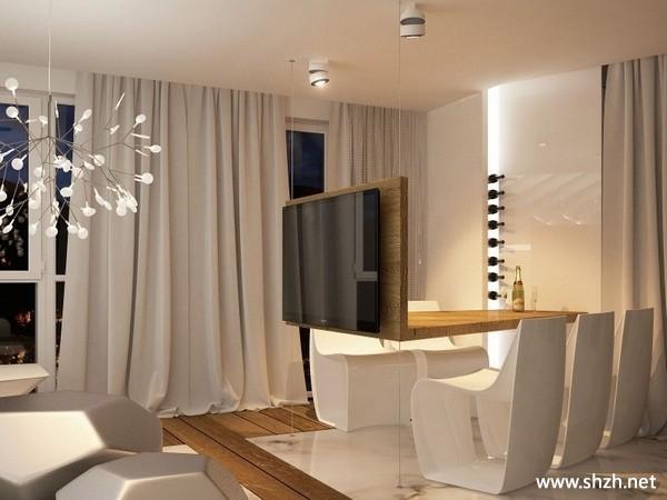 北京 高光/现代简约客厅餐厅沙发茶几效果图