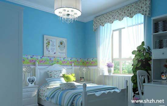 儿童节送儿童房装修设计图