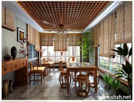 稳重大气复古高雅装修风格效果图欣赏-上海装潢网