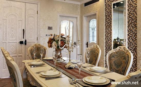 古典欧式设计 演绎唯美宫廷风-上海装潢网