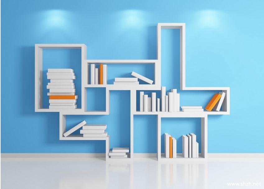 Ţ�上挂式书架效果图图片分享 ƕ�果图大全