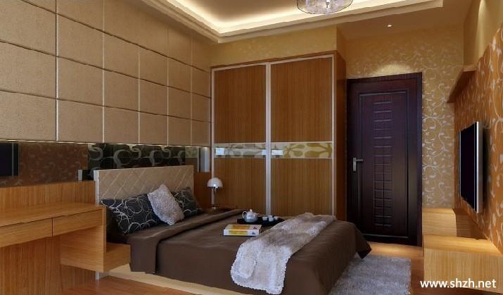中式卧室效果图图片