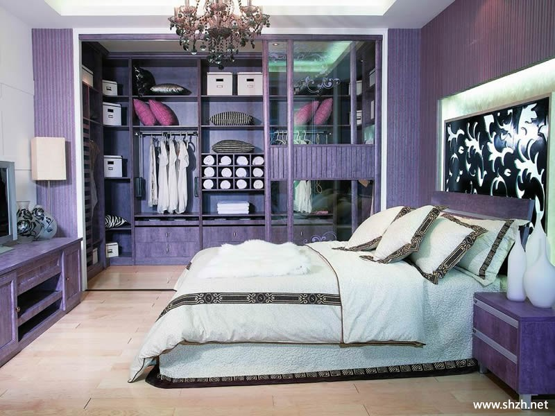 韩式欧式古典豪华卧室衣帽间衣柜
