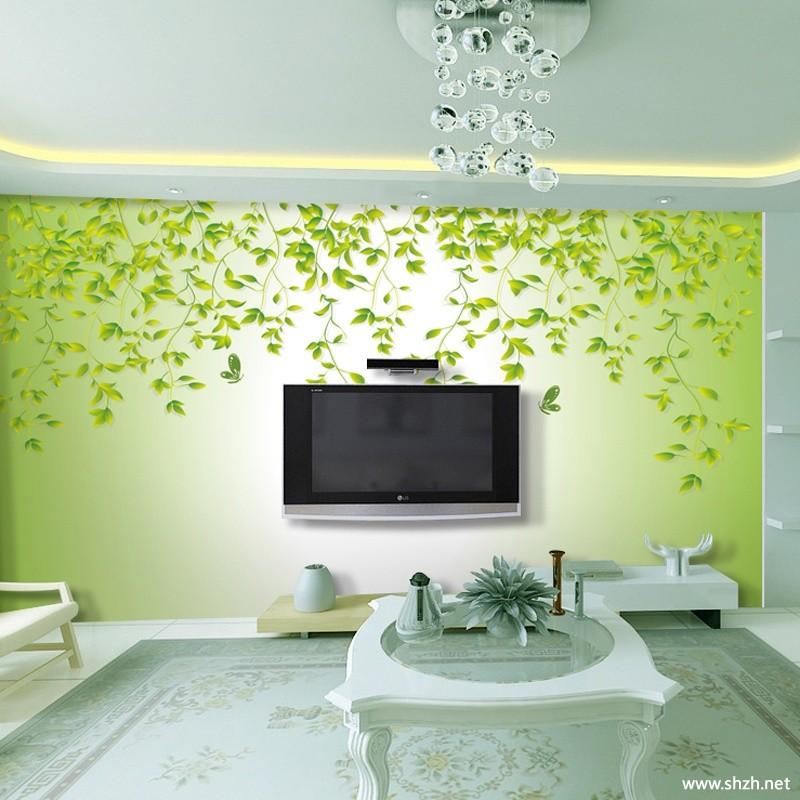 背景墙 电视/地中海清新简约客厅电视背景墙效果图