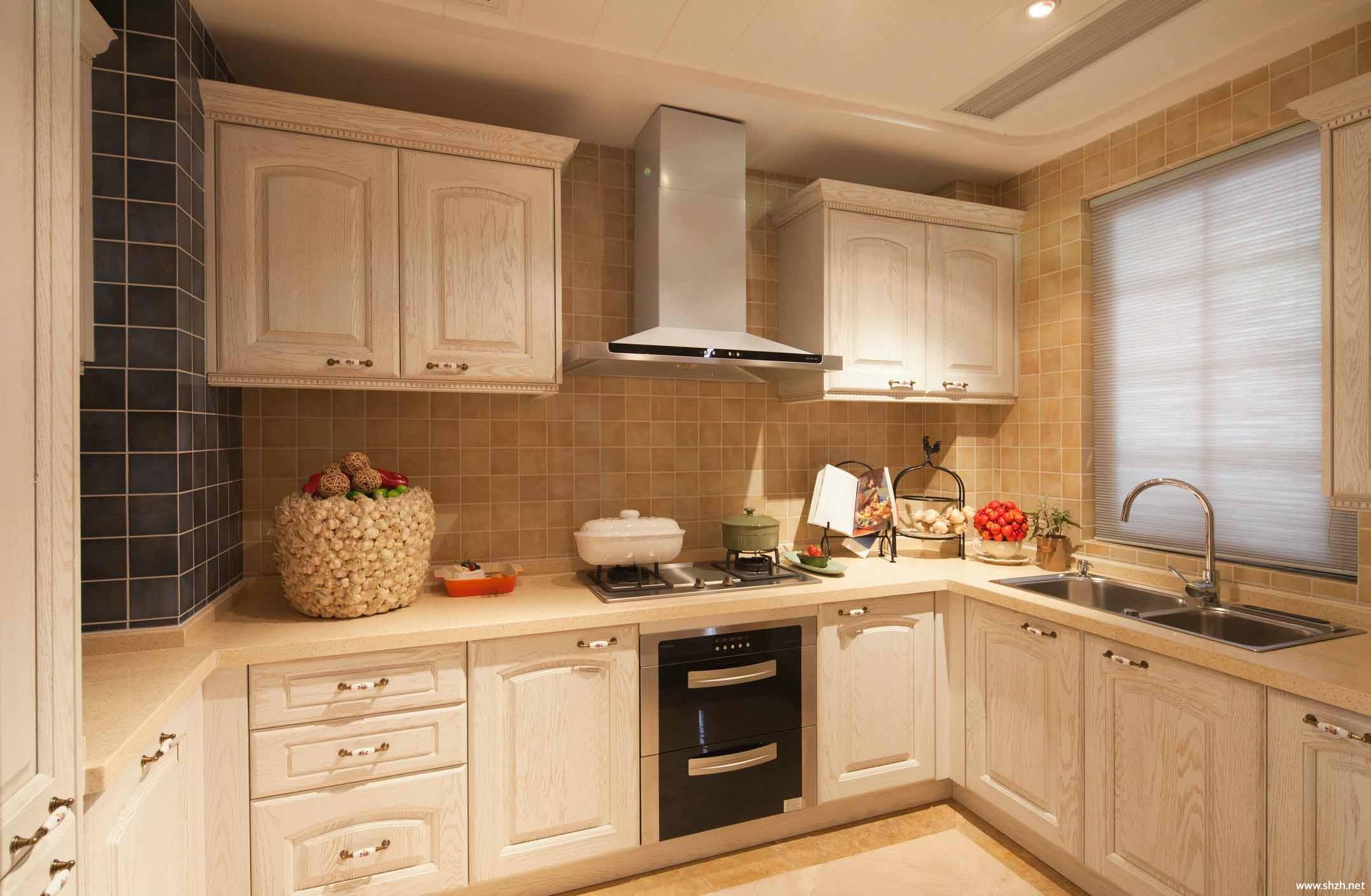 白色廚房櫥柜門圖片_裝修123效果圖
