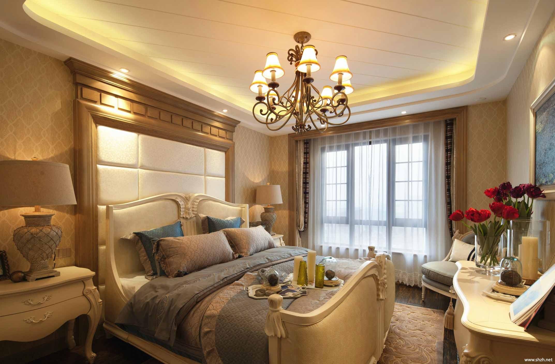 东南亚卧室家具效果图