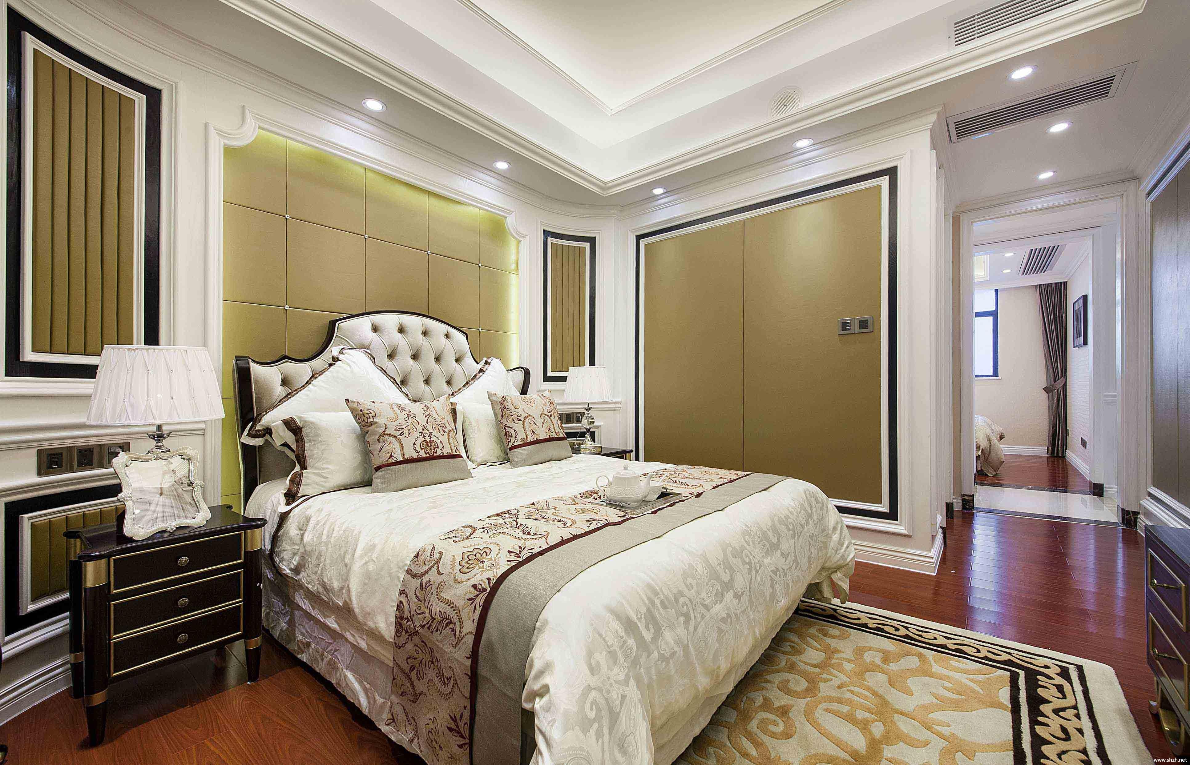 欧式卧室床效果图