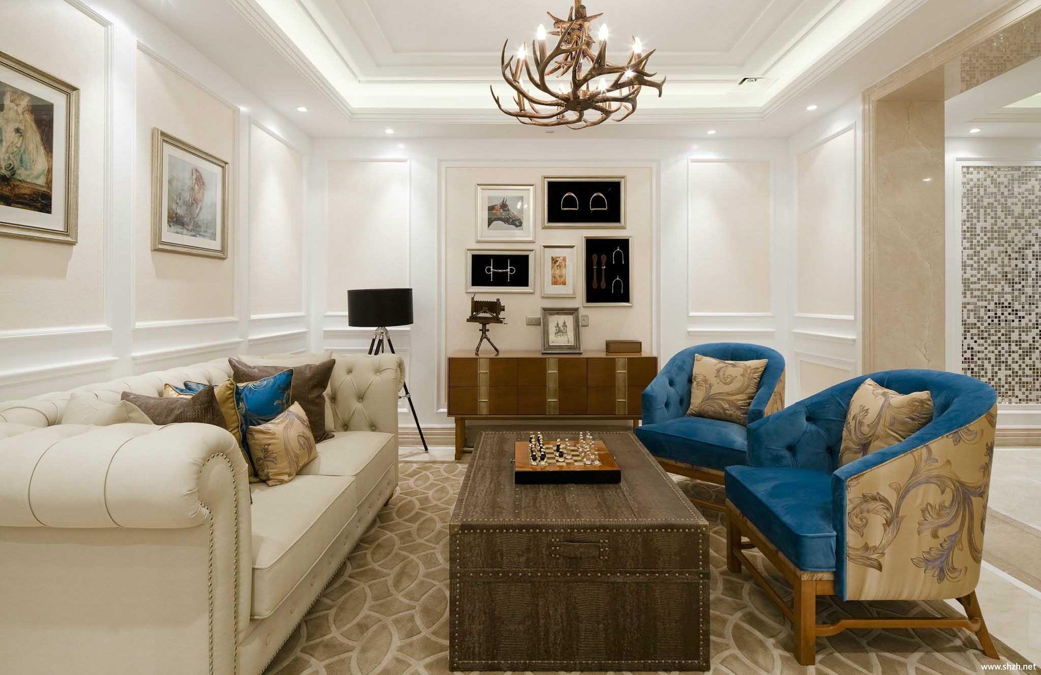 欧式客厅沙发效果图