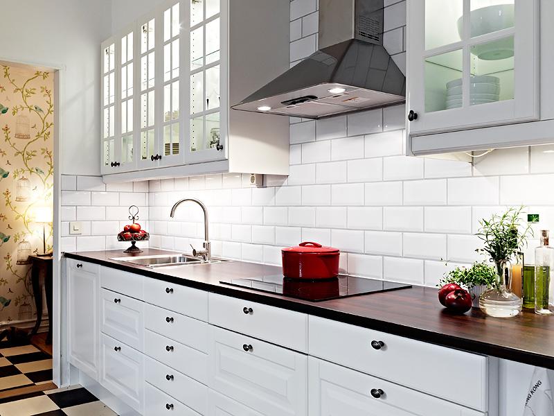 北欧风格厨房橱柜效果图