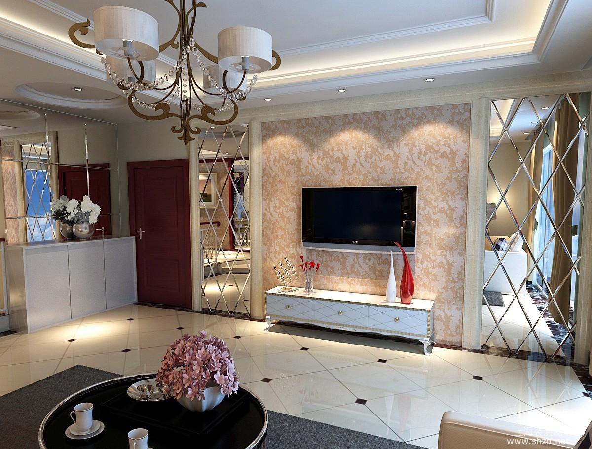 电视背景墙-上海装潢网