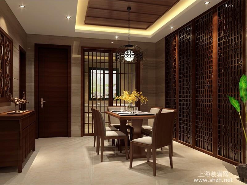 东南亚风格餐厅设计效果图