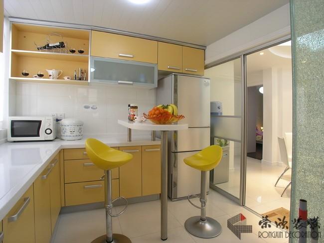 小厨房装潢设计图