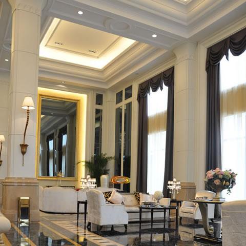 首页 上海发现建筑装饰设计工程有限公司 案例展示 大连绿城深蓝中心