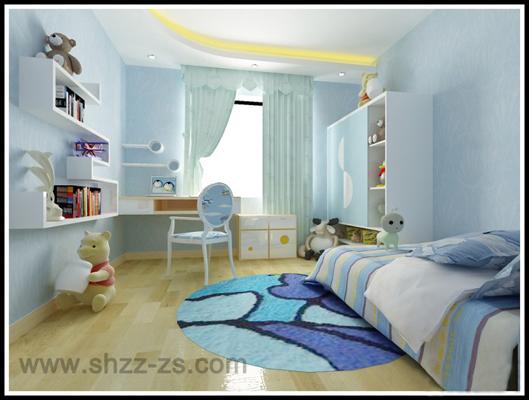 上海儿童房装修设计-浦东家庭儿童房装潢-正州装饰
