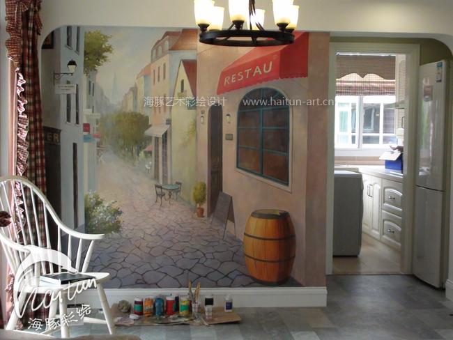 欧式别墅餐厅-上海艺凌装饰设计工作室-上海装潢网