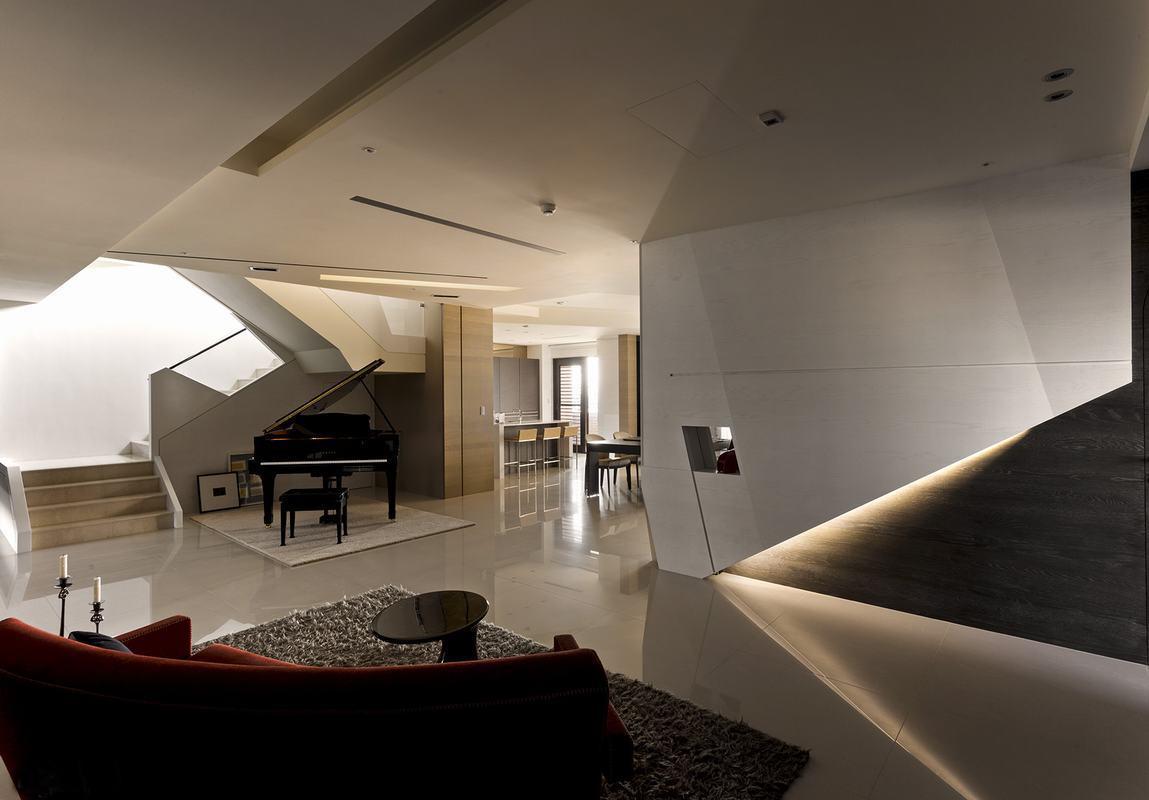 钢琴房设计装修远观效果图