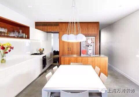 厨房+餐桌设计效果图