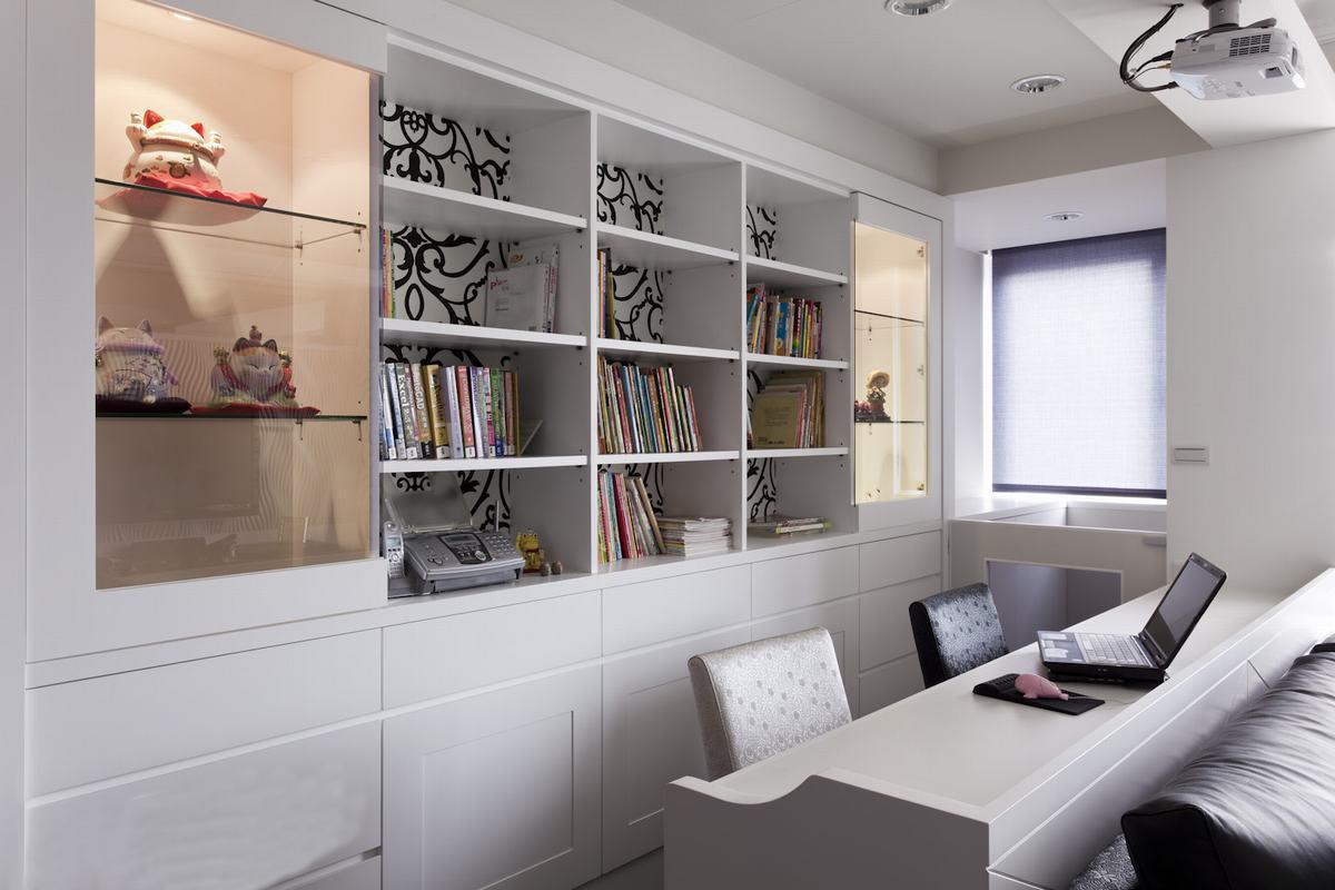 书房设计装修效果图