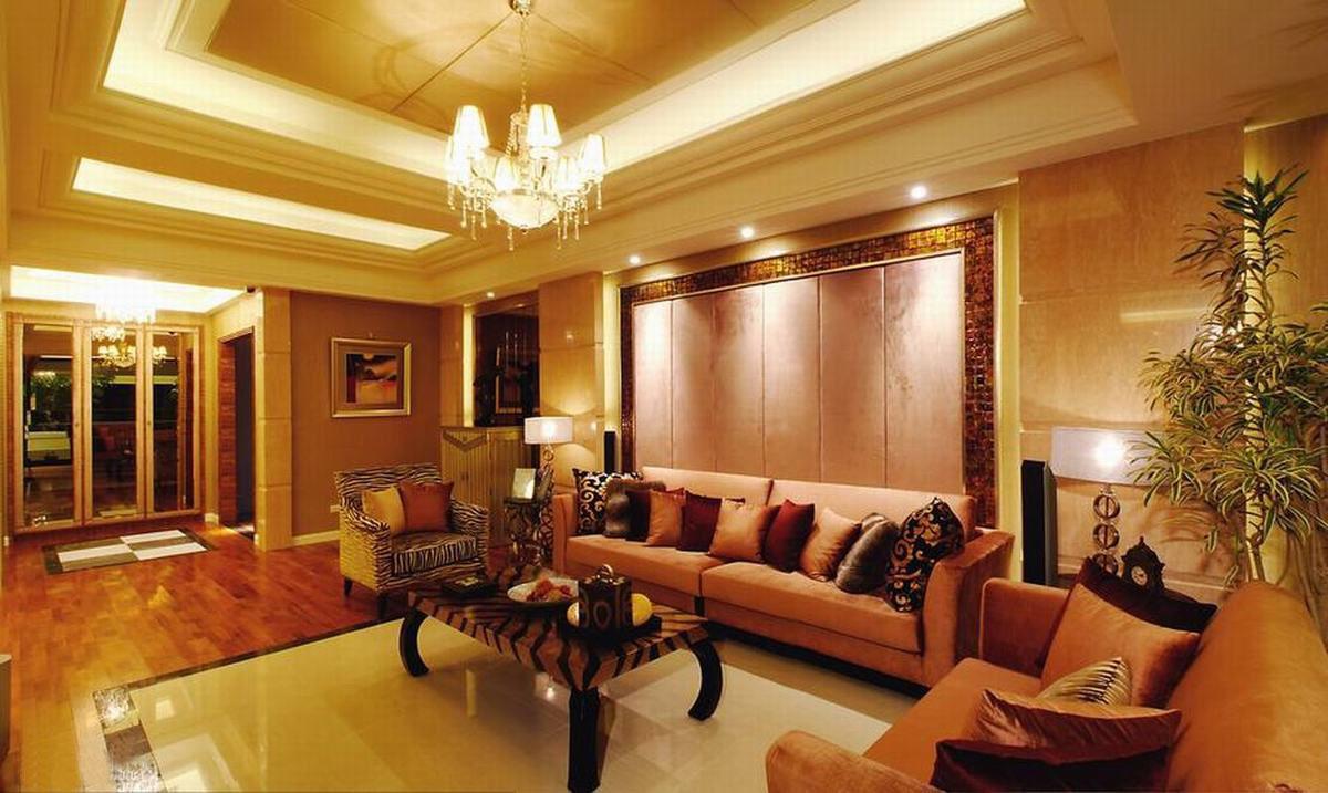 客厅设计装修效果图2