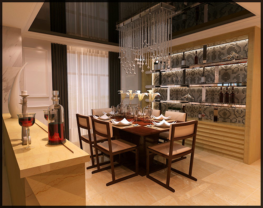 叠加别墅-上海湛业装饰设计工程有限公司-上海装潢网