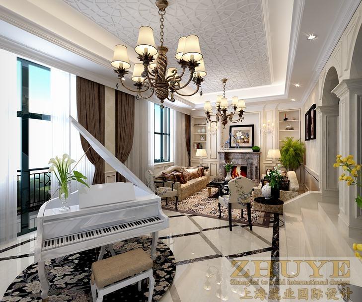 杭州700平米欧式风格别墅装修案例