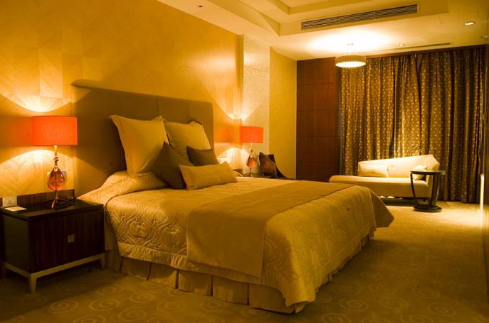欧式宾馆房间效果图