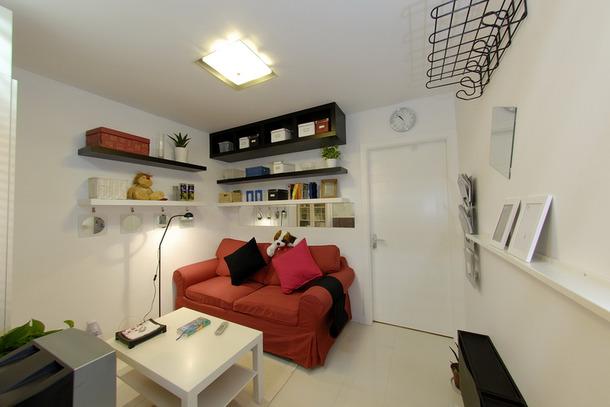50平小户型单身公寓设计案例