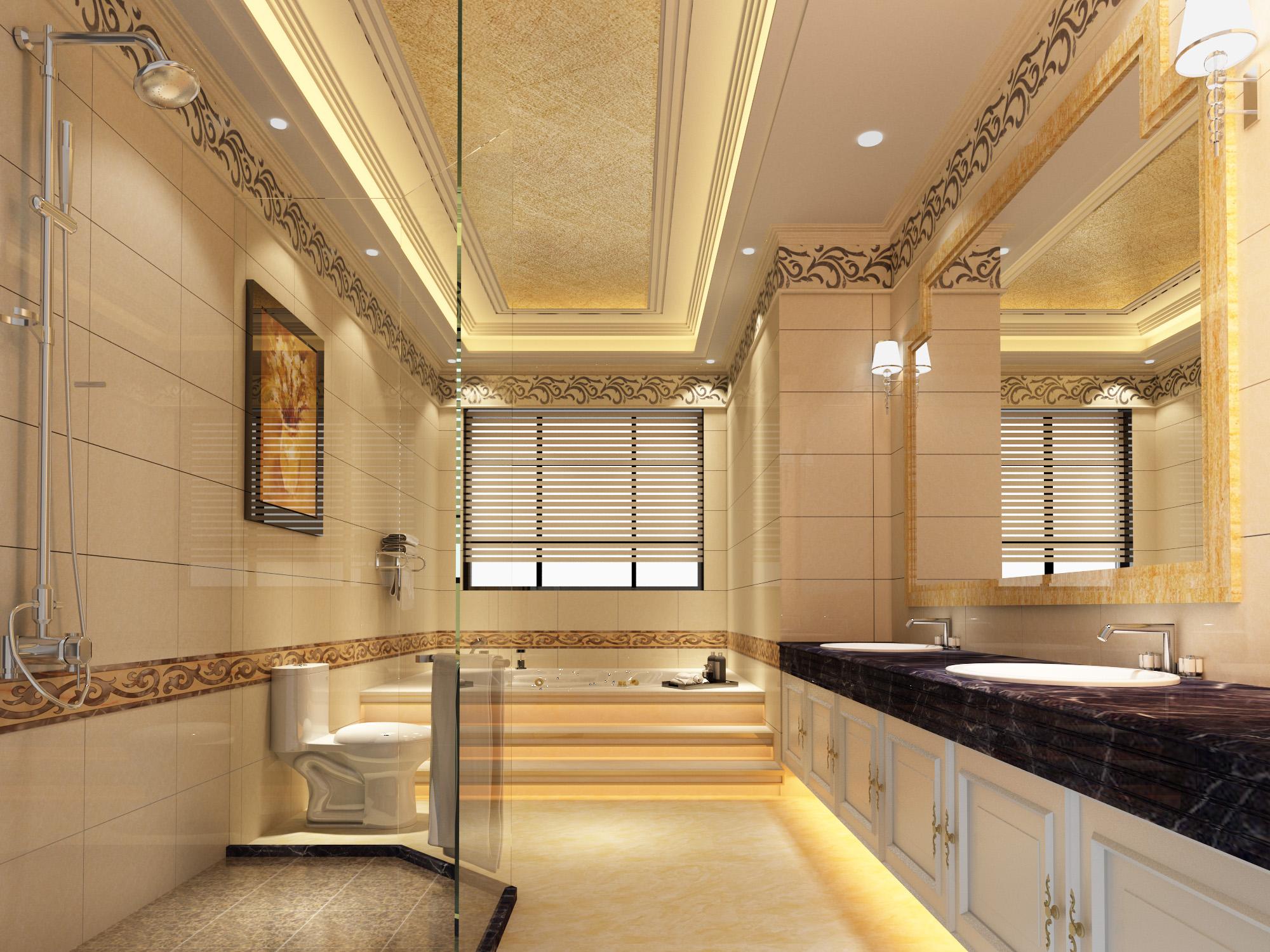 欧式洗浴间