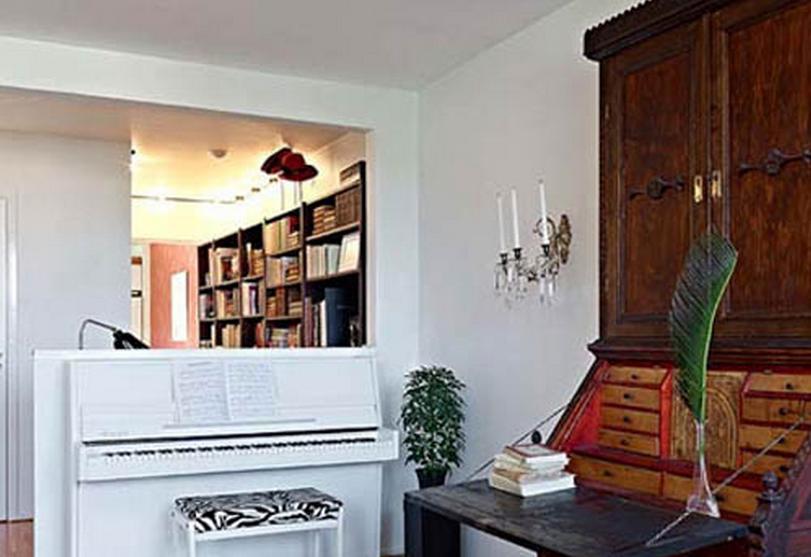 75平简约设计--书房钢琴房